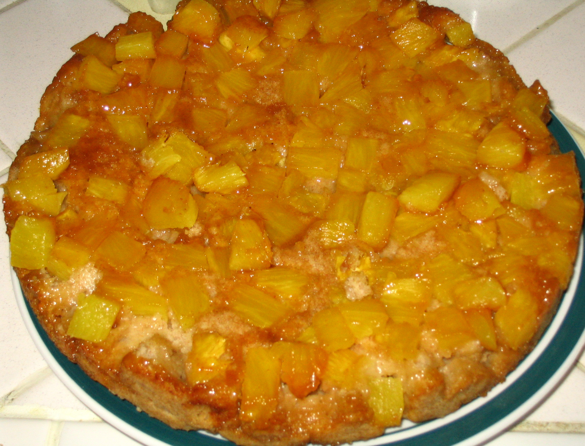 ... Everyday by Rick Bayless: Pineapple Skillet Upside-Down Cake Review